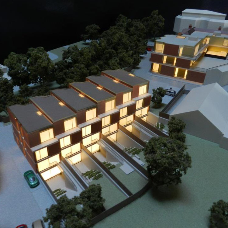 Image of Model exterior of Muswell Hill